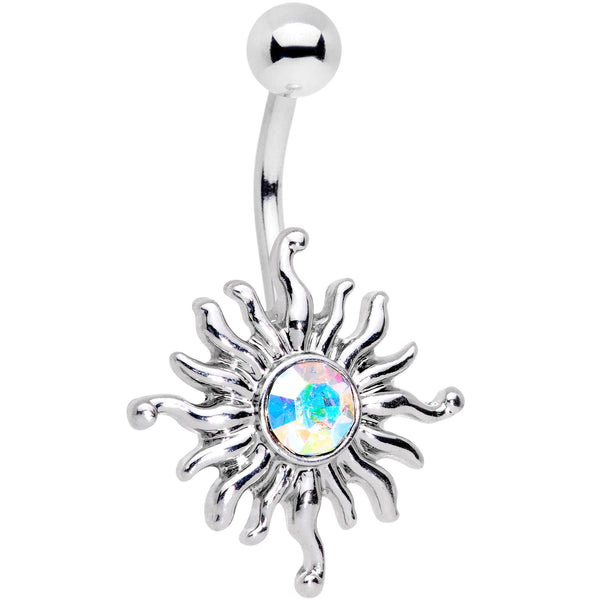 Aurora Gem Dancing Summer Sun Belly Ring