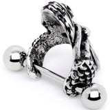 16 Gauge 1/2 Mermaids Embrace Cuff Cartilage Earring