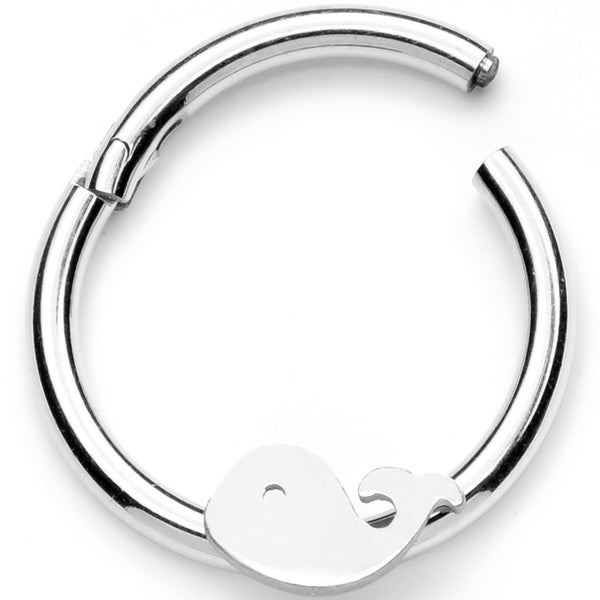 16 Gauge 3/8 Whale of a Hinged Segment Ring