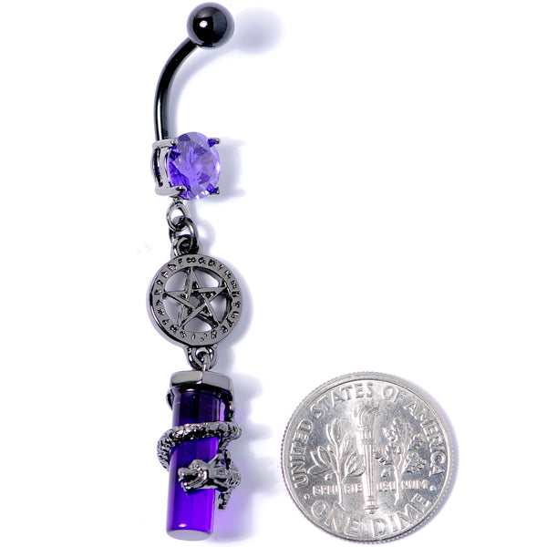 10 Halloween Dark Themed Belly Button Rings 316l Surgical Steel 14g