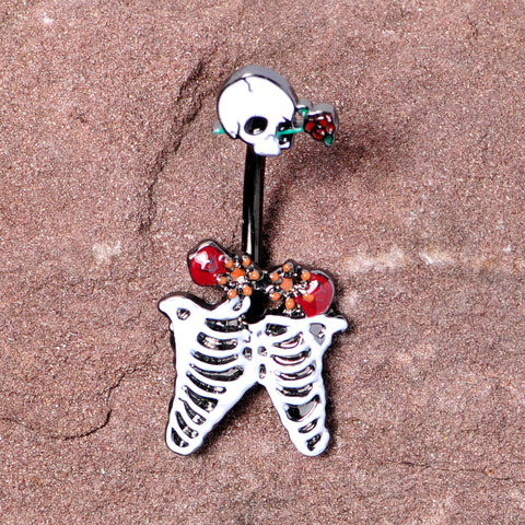Items Sugar Skull Belly Ring #7 FREE shipping With 3