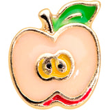 16 Gauge 1/4 Gold Tone Sweet Apple Cartilage Tragus Earring
