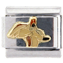 Officially Licensed LOONEY TUNES Italian Charms - Sad Wile E. Coyote