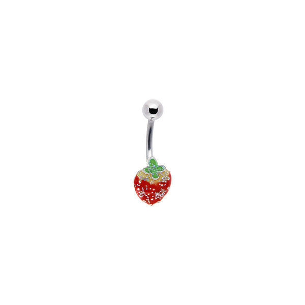 Sparkling STRAWBERRY No. 2 Belly Ring