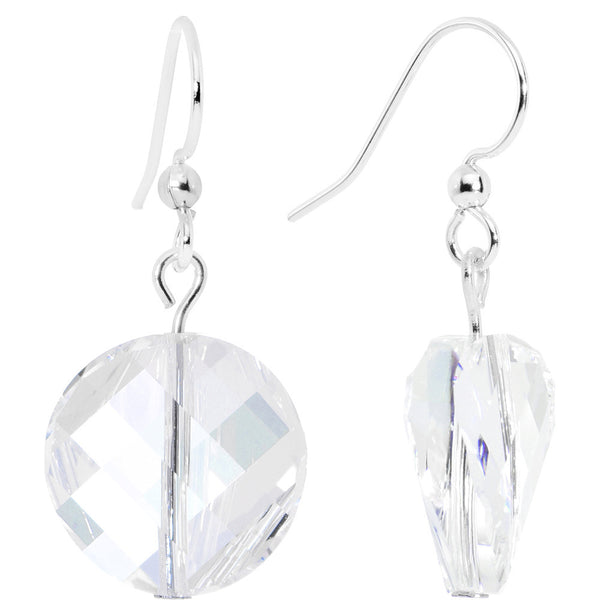 Moonlight Twist Crystal Dangle Earrings Created with Swarovski Crystals