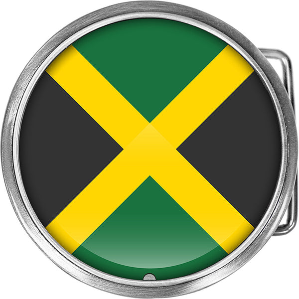 Jamaica Flag Belt Buckle