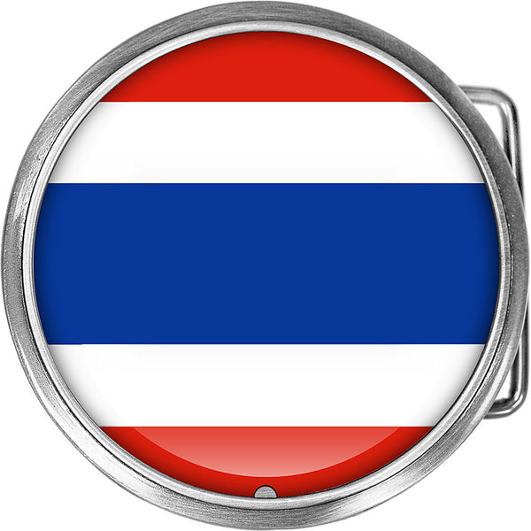 Thailand Flag Belt Buckle