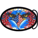 American Patriotic Eagle Belt Buckle