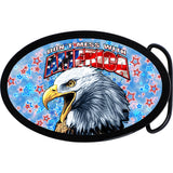 Don't Mess with America Belt Buckle
