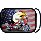 USA American Eagle Chopper Belt Buckle