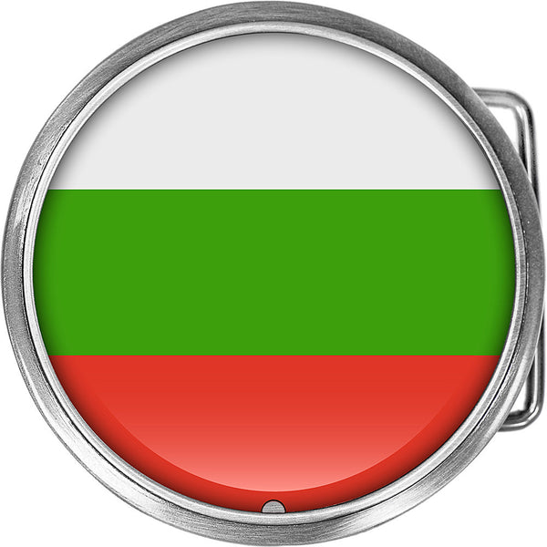 Bulgaria Flag Belt Buckle