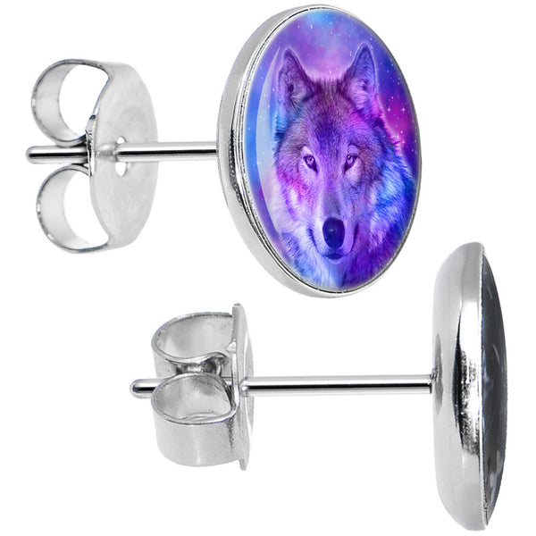 Harmonious Universe and Wolf Stud Earrings