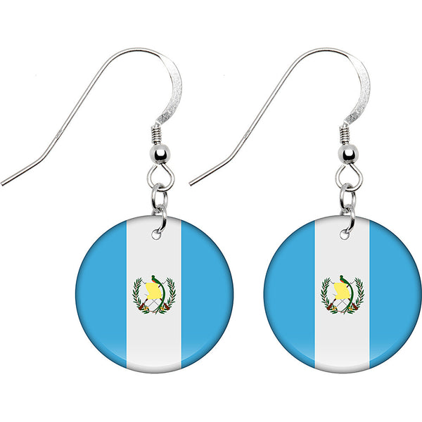 Guatemala Flag Earrings