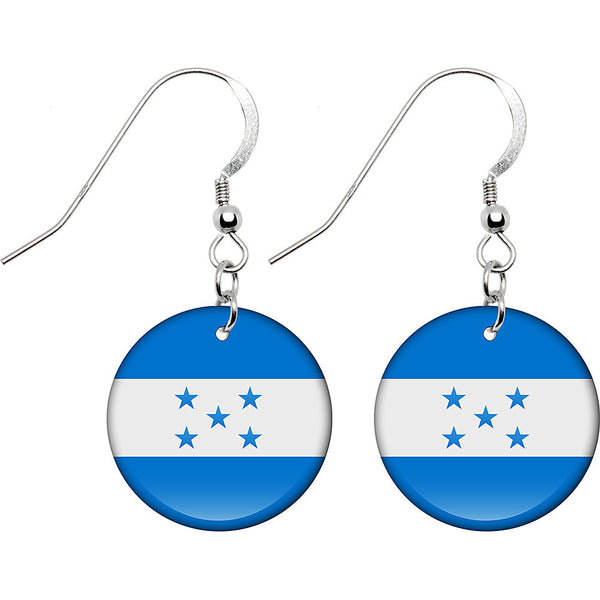 Honduras Flag Earrings