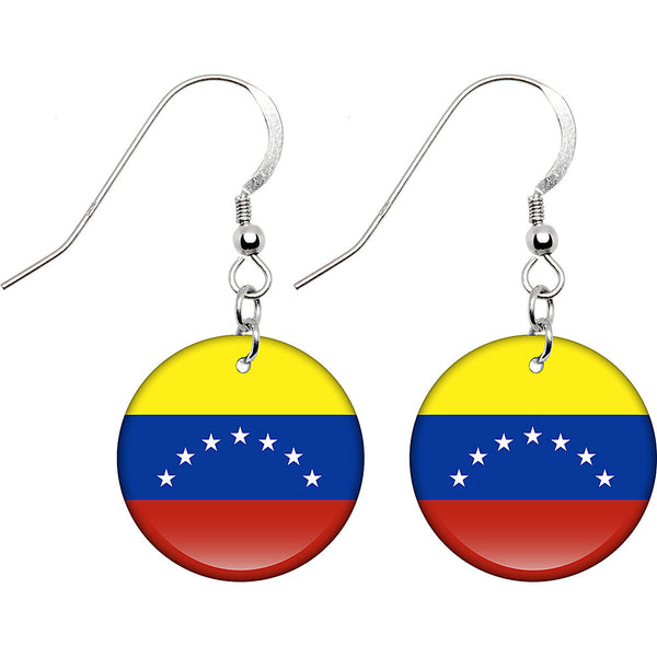 Venezuela Flag Earrings