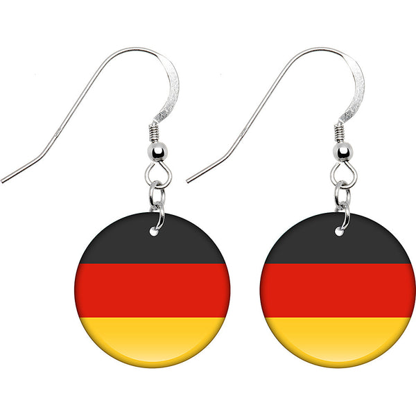 Germany Flag Earrings