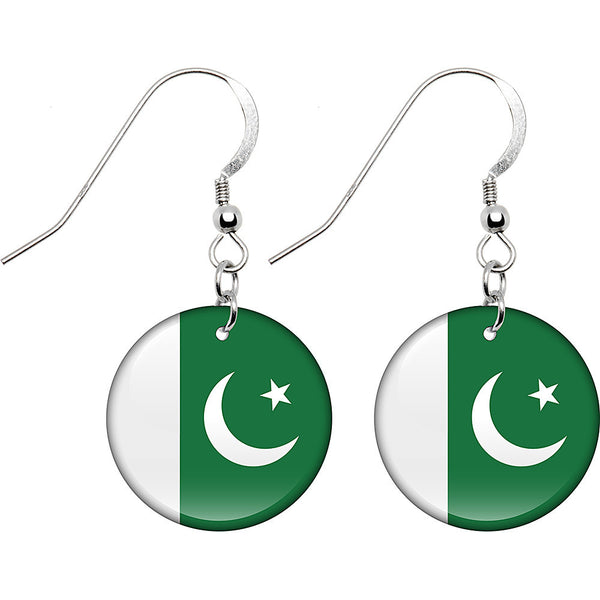 Pakistan Flag Earrings