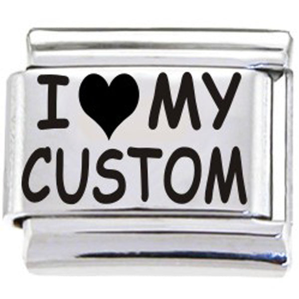 BodyCandy Custom Italian Charm I HEART MY...