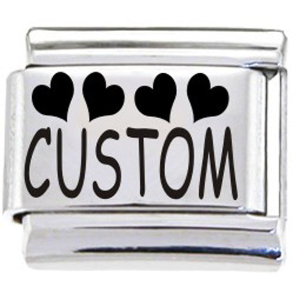 BodyCandy Custom Italian Charm HEARTS...