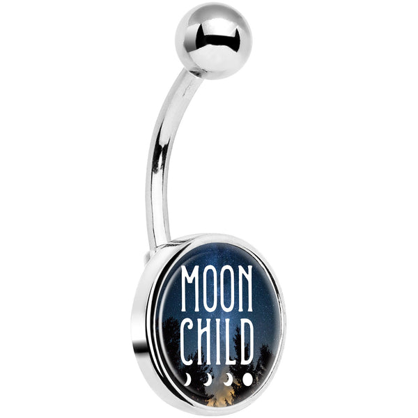 Moon Child Belly Ring