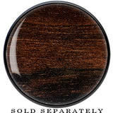 Black Acrylic Peruvian Walnut Wood Inlay Saddle Plug