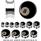Steel Eight Ball Screw Fit Plug