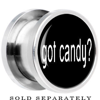 Steel Got Candy Screw Fit Plug