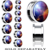 Vast Universe Screw Fit Plug in Stainless Steel