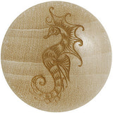 Organic Crocodile Wood Sultry Seahorse Saddle Plug