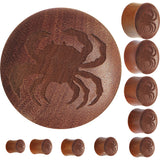 Organic Sawo Wood Sea Crab Saddle Plug