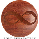 Organic Sawo Wood Infinity Saddle Plug