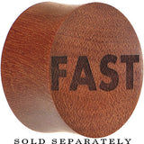 Fast Saddle Plug in Organic Sawo Wood