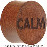 Calm Saddle Plug in Organic Sawo Wood
