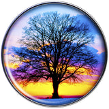 16 Gauge Sunset Tree Tragus Cartilage Earring
