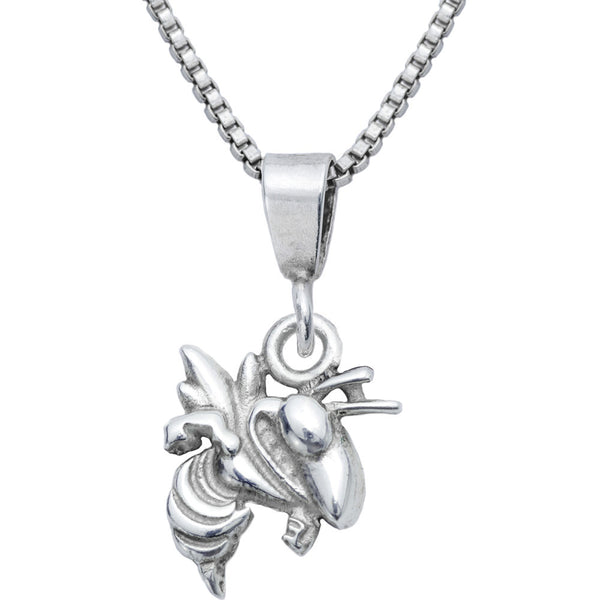 Sterling Silver Charm Collegiate Georgia Tech Necklace