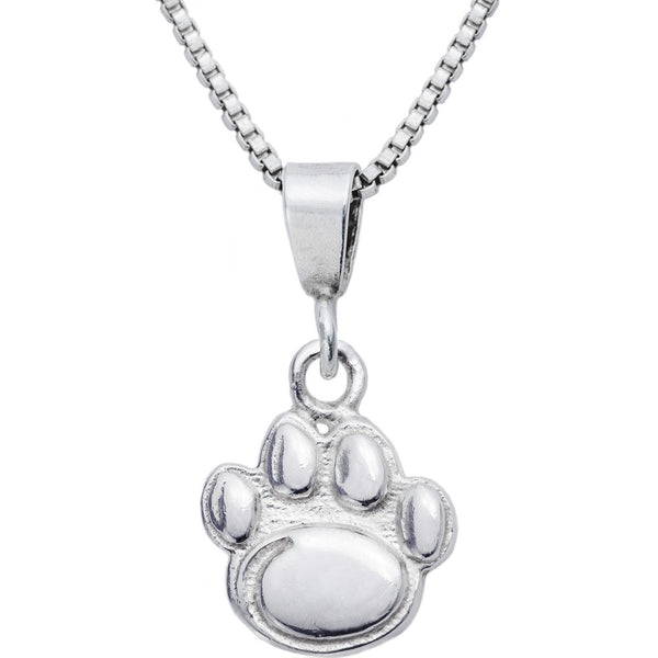 Sterling Silver Charm Collegiate Penn State Necklace