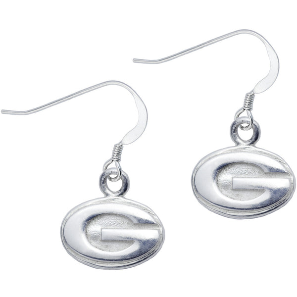 Sterling Silver Collegiate Georgia Dangle Earrings