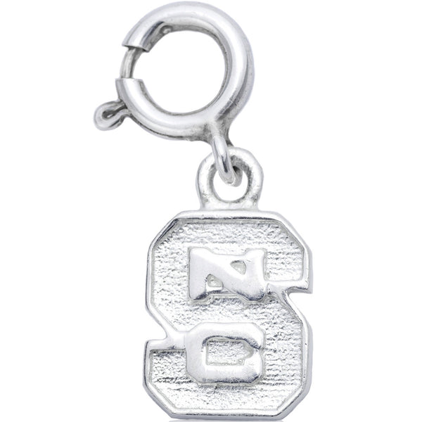 Sterling Silver Collegiate NC State Wolfpack Charm