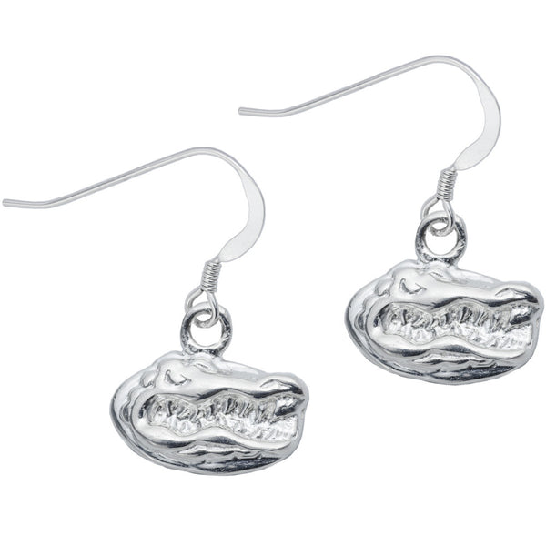 Sterling Silver Collegiate Florida Dangle Earrings