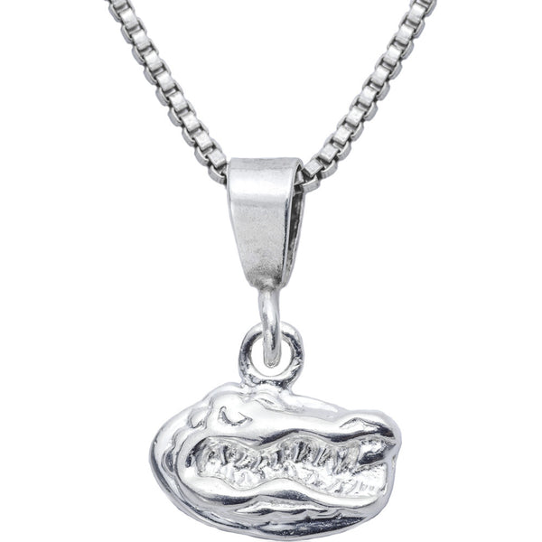 Sterling Silver Charm Collegiate Florida Necklace