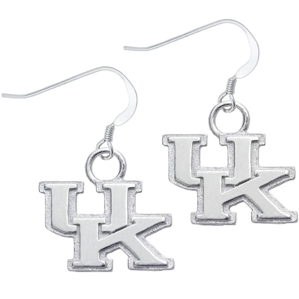 Sterling Silver Collegiate Kentucky Dangle Earrings