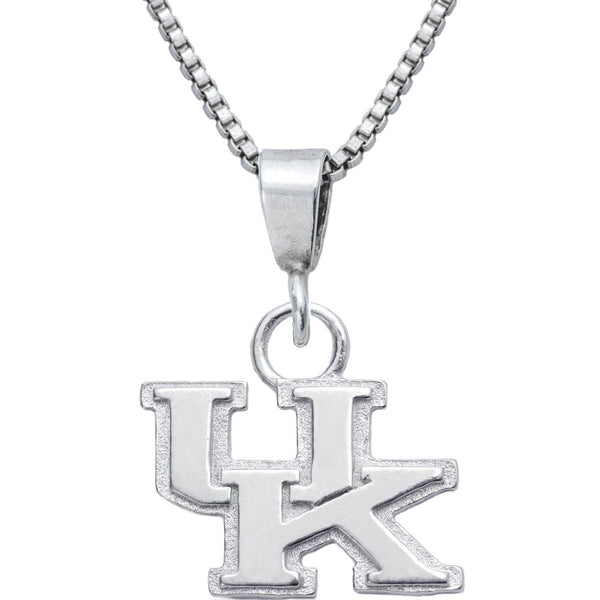 Sterling Silver Charm Collegiate Kentucky Necklace