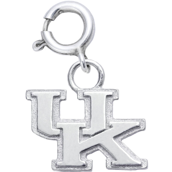 Sterling Silver Collegiate Kentucky Wildcats Charm
