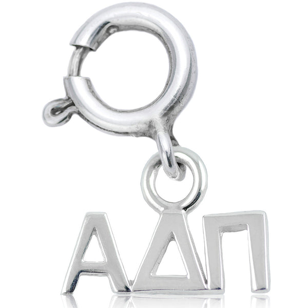 Sorority Alpha Delta Pi Charm in Sterling Silver