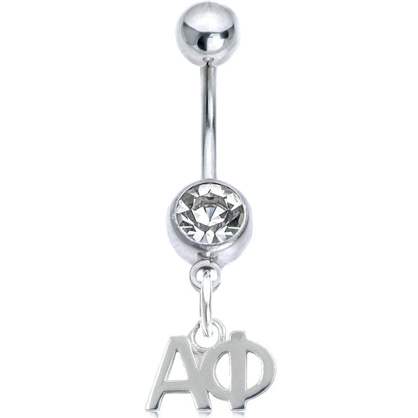 Sorority Alpha Phi Belly Button Ring