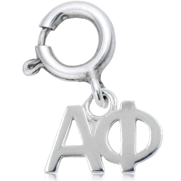 Sorority Alpha Phi Charm in Sterling Silver