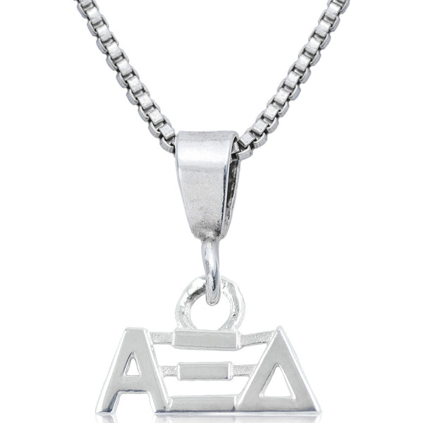 Sorority Alpha Xi Delta Sterling Silver Necklace