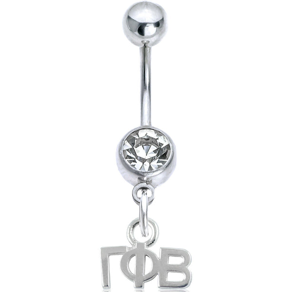 Sorority Gamma Phi Beta Belly Button Ring