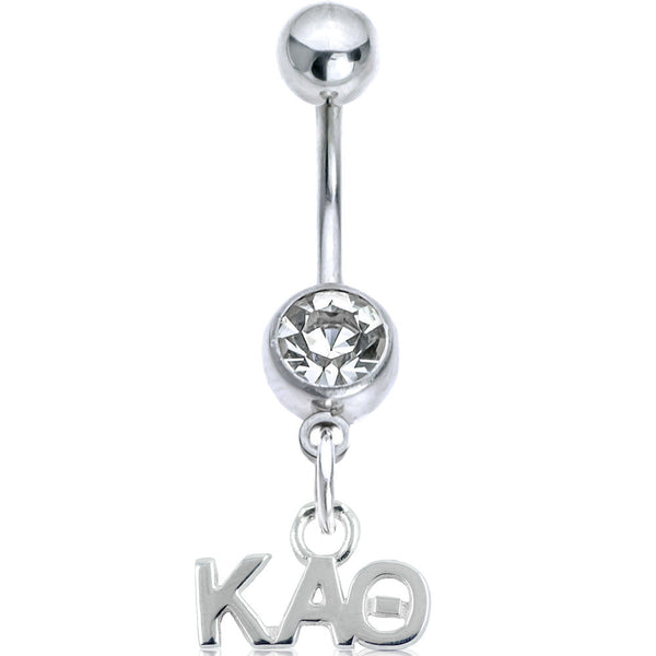 Sorority Kappa Alpha Theta Belly Button Ring