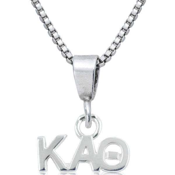 Sorority Kappa Alpha Theta Sterling Silver Necklace
